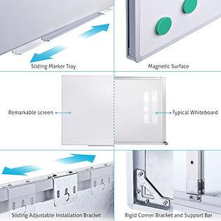 Projektori valagetahvlid klassiruumidesse ja kontoritesse - OÜ Novaver