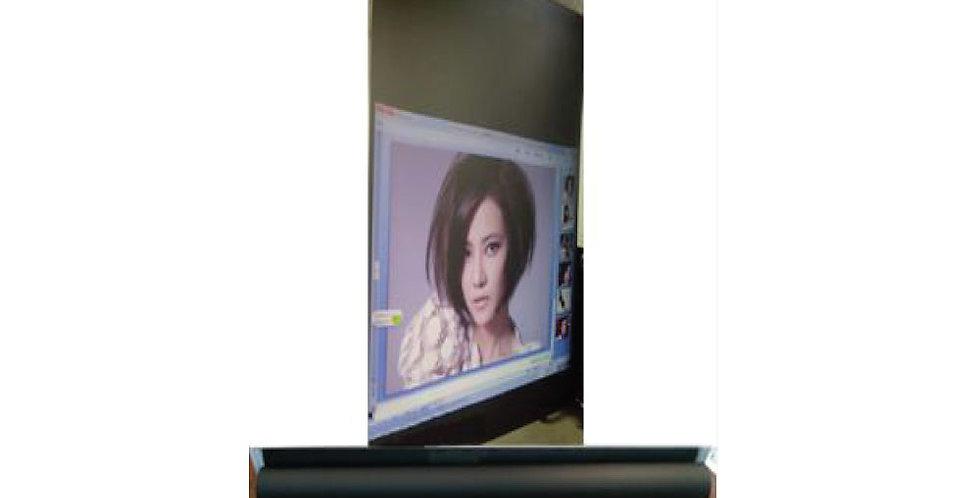 Projektsioonkile ehk ekraanikile - Must (mõlemalt poolt vaadeldav)