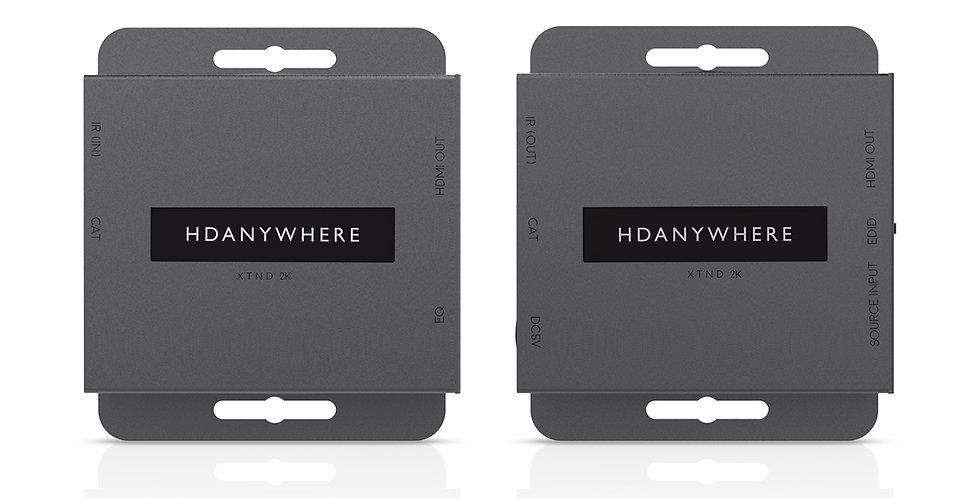 HDMI üle CATx | HDanywhere XTND | 2K | 30m | saatja + vastuvõtja