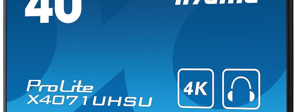 """Iiyama 40"""" PROLITE X4071UHSU-B1   4K UHD.    MAV   must"""
