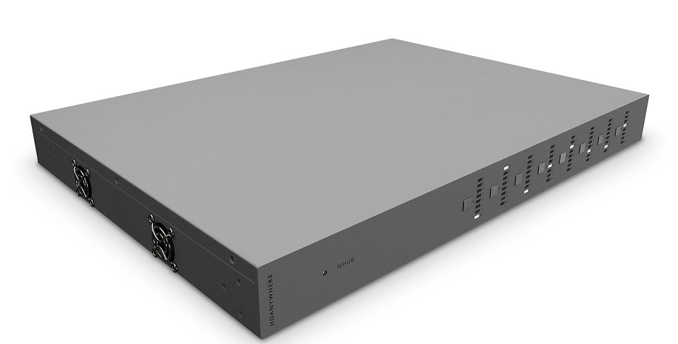 HDanywhere - MHUB Lite (8x6+2) | 40m | uControl kmpl. 6 RX