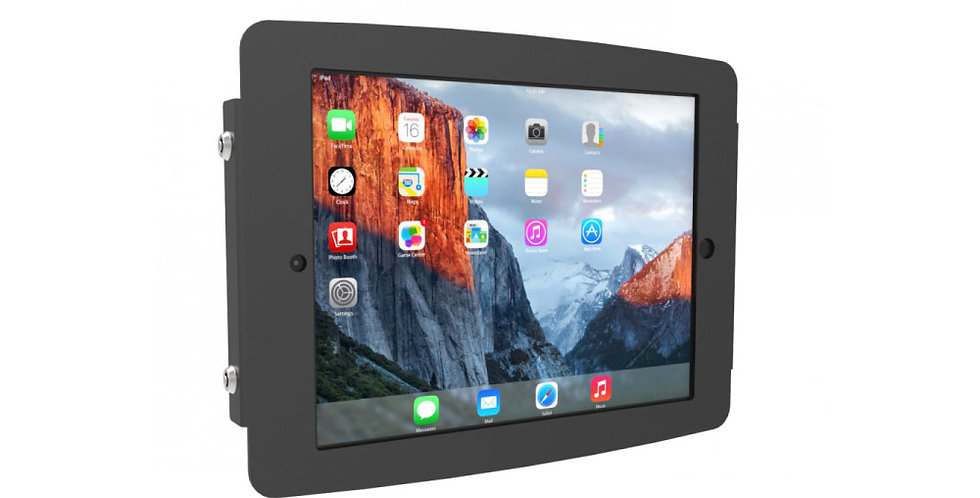Maclocks tahavelarvuti hoidik | iPad 2, uus iPad, iPad Air  | Must ja valge