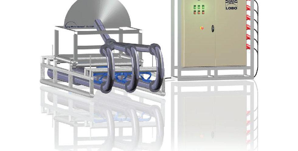 Vesi-ekraan: lehvik SPRAY  / vesi tõuseb kuni 6-8m kõrgusele