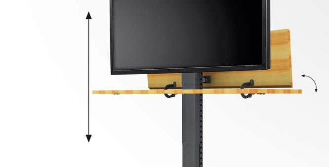 "LCD ekraanilift kuni 42"""