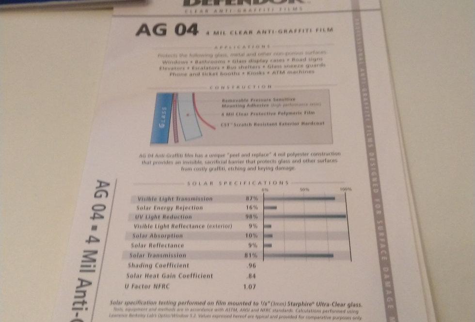 Ekraani kaitsekile Defendor AG 04