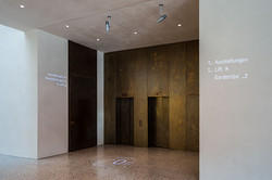 Vorarlberg muuseum - Gobo projektor