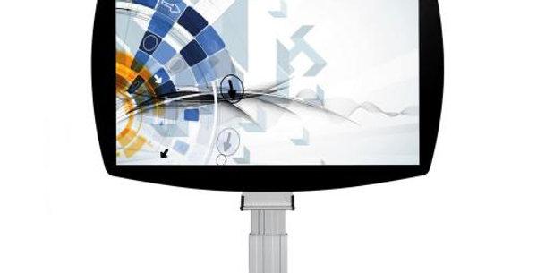 Elektriline valgetahvel stend interaktiivsele projektorile - suurus 1,6 x 1m