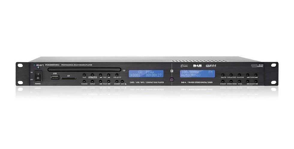 Apart audio mängija PCR3000RMKII DAB ja FM tuuner