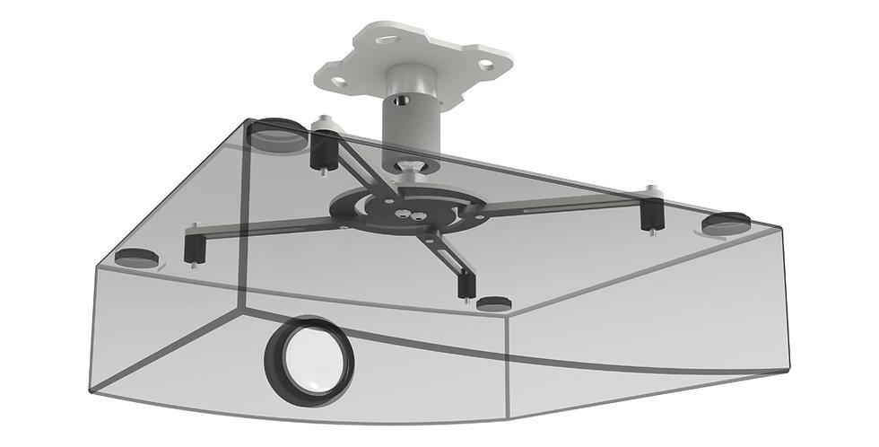 Projektorikinnitus | valge | 360 ° | kalle +/- 20 ° | 130mm