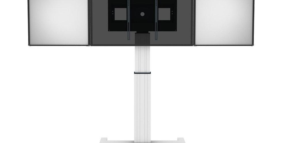 Motoriseeritud Conen ekraanialus / 2 valgetahvlit / 50 cm