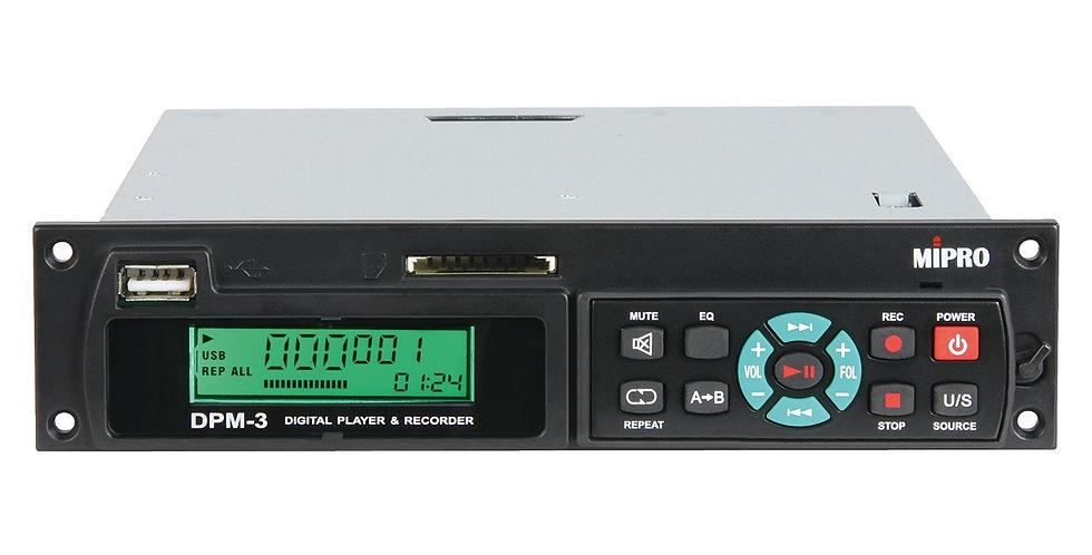 Mipro DPM-3 - USB & SD mängija