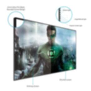 ALR ambient light rejecting projektori ekraanid - OÜ Novaver