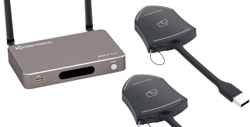 WiFi presentatsioonisüsteem Klick + Show K-10S (Saksa)