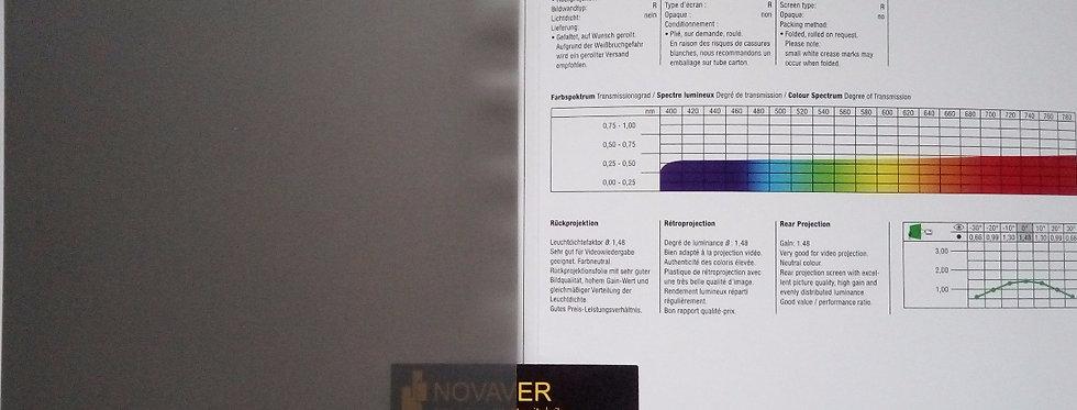 Optiux® - hall tagant projekteeritav PVC ekraanimaterjal