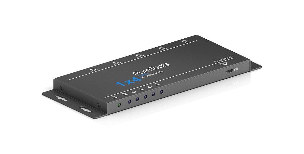 PureTools - HDMI signaalijagaja 1x4, 4K (60Hz 4:2:0)