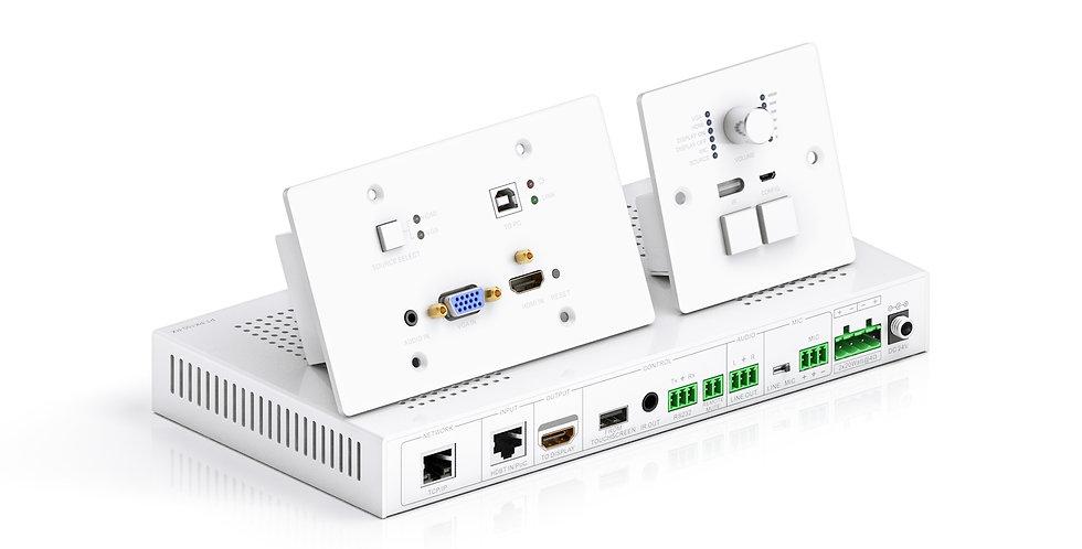 HDMI üle HDbaseT | 2K | 1 HDMI ja VGA läbi HDBaseT HDMI väljundisse
