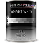 Paint on Screen - Radiant Withe