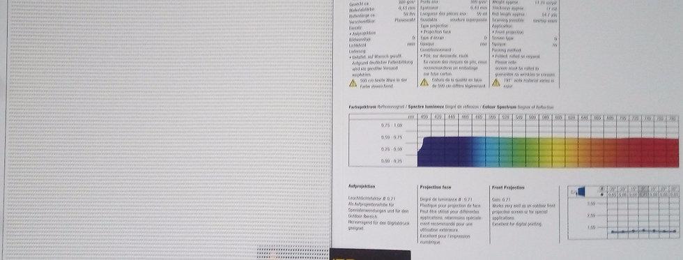 Arena 86® - võrk, eest projekteeritav polüester ekraanimaterjal + prindita