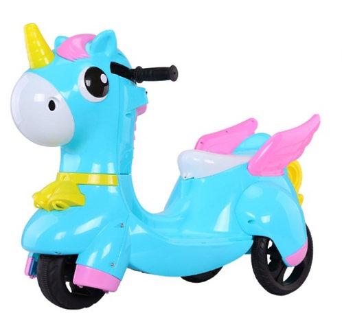 獨角獸兒童電動機車