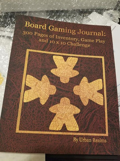 Board Game Journal