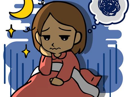 Lights off, Worries on: Tips to help manage your child's anxiety at night