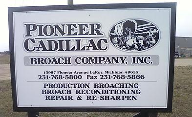 Pioneer Cadillac Broach Company