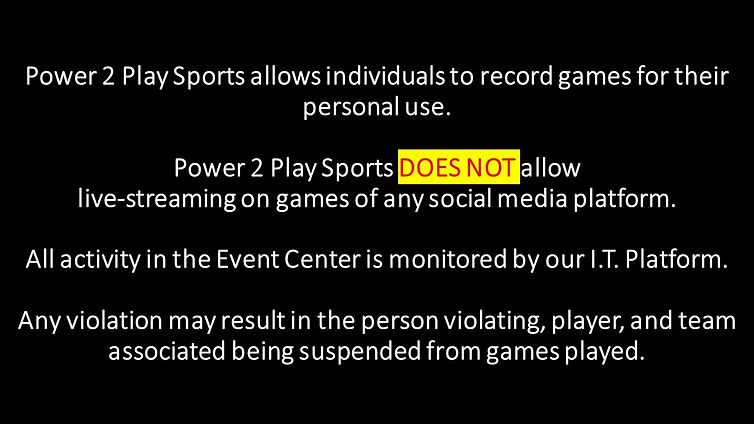 Power 2 Play Sports allows individual to