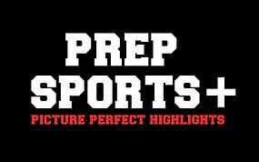 Prep Sports+ Logo - Vector Black Backgro