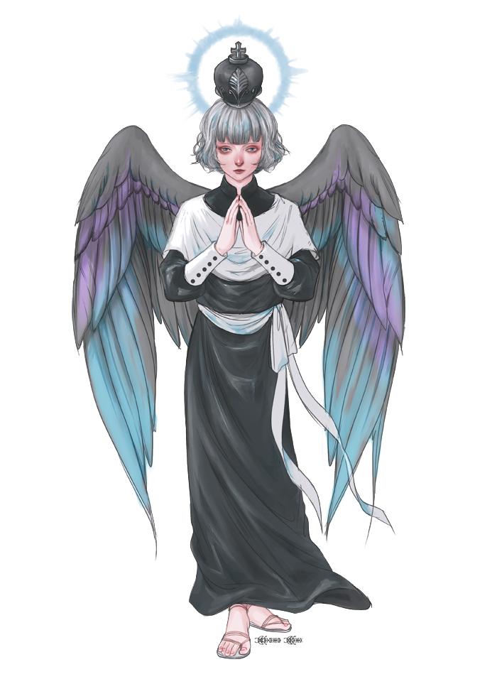 黒い天使完成