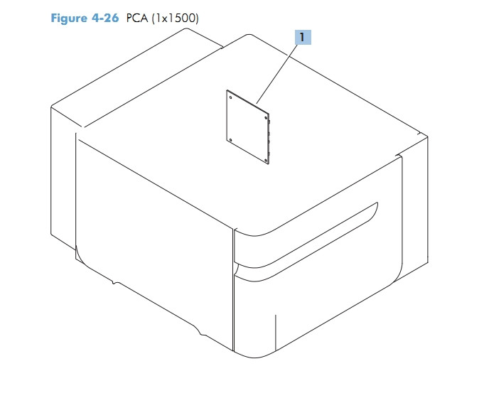 23) PCA 1 x 1500 M601 M602 M603 HP Laser Printer Diagrams