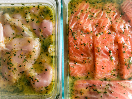 The Best Citrus Marinade for Chicken AND Salmon