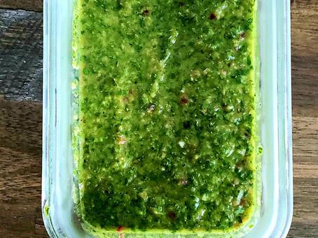 Quick + Easy Chimichurri Recipe