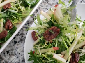 Honeycrisp Apple, Frisee and Kale Salad