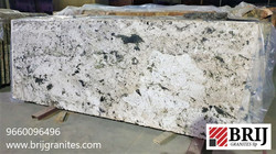 Alpine White Alaska White Granite Slabs