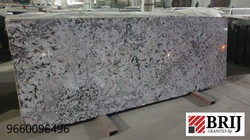 Alaska White Granite Slab Brij Granites