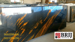 Titan Gold Granite SLabs Brij Granites