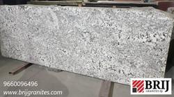 Champaign White Alaska White Granite Sla