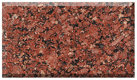 imperial red india granite export
