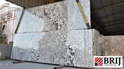 Alaska white champaign white brij granit