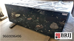 Cosmos Black Granites Slabs Polished Gra