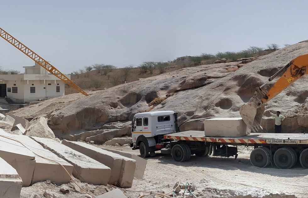Block Loading At Quarry