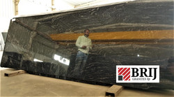 Black Marccino Granite Slabs Brij Granit