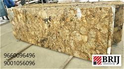 Alaska Gold Granite Slabs Brij Granites.