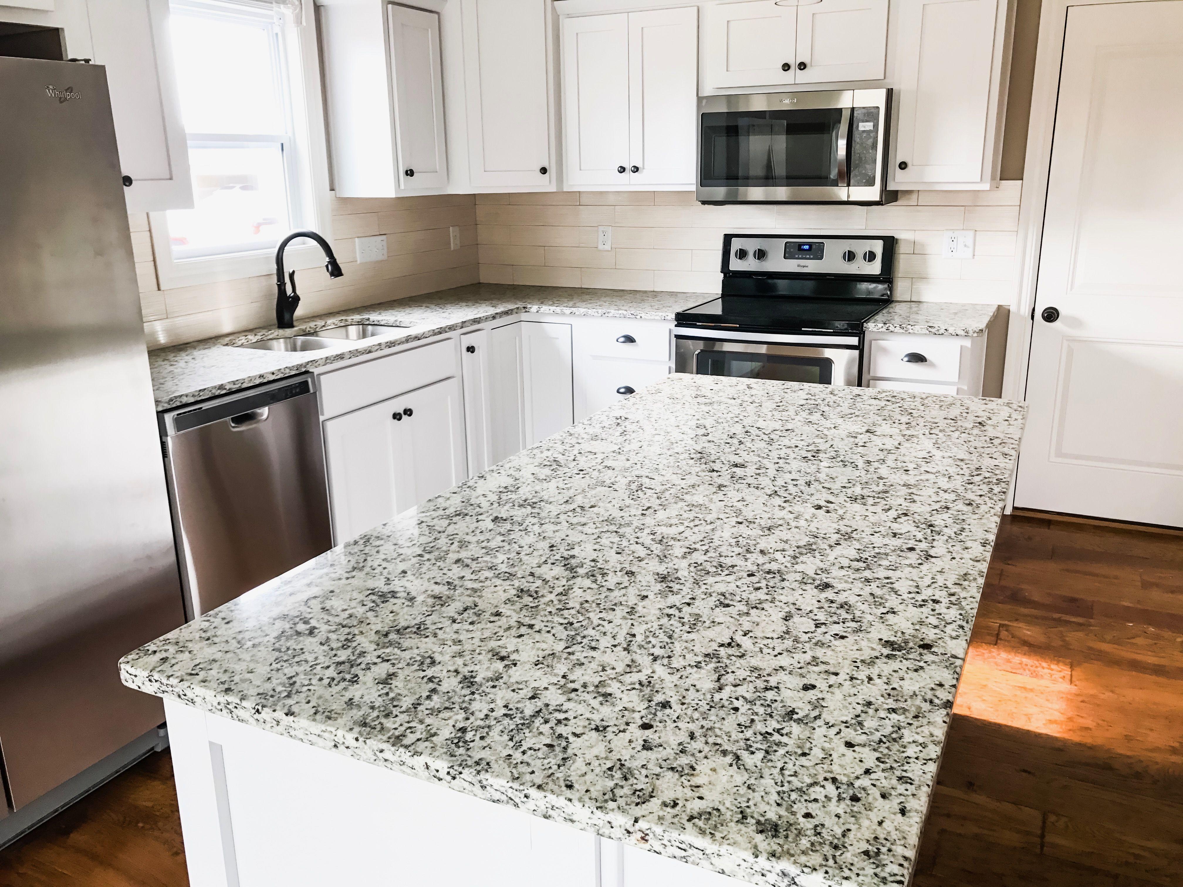 White indian granite countertop