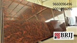 Multi Red Granite Slabs Brij Granites