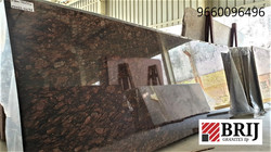 Brazil Brown Granite Slabs Polished Brij