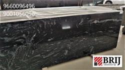 Marccinno Black Granite Slab Brij Granit