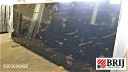 Fish Brown Granite Slabs Brij Granites