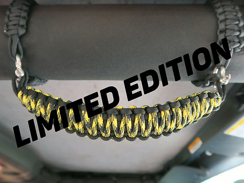 Yellow and Black limited edition Jeep JK Grab Handles