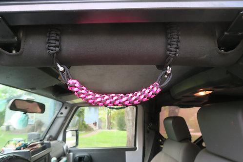 Pink and Black JK Grab Handles